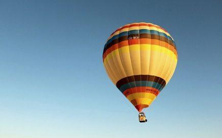 Um passeio de balão com a Up Alentejo e a Herdade dos Grous