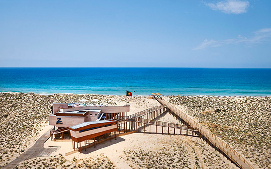 restaurantes de praia no sul do País