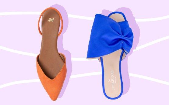 Sapatos rasos para levar a casamentos (e não ter dores nos pés)