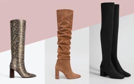 Botas de cano alto: o modelo que não vai querer descalçar