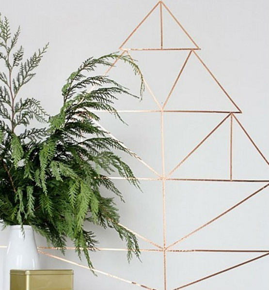 Árvores de Natal para espaços pequenos: 15 ideias originais e criativas