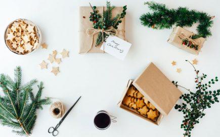 Embrulhar presentes de Natal com 9 DIY criativos e simples