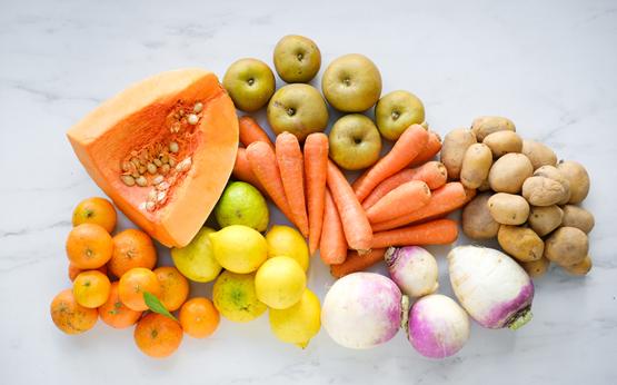 3 receitas deliciosas com o cabaz de fruta e hortaliças da Fruta Feia