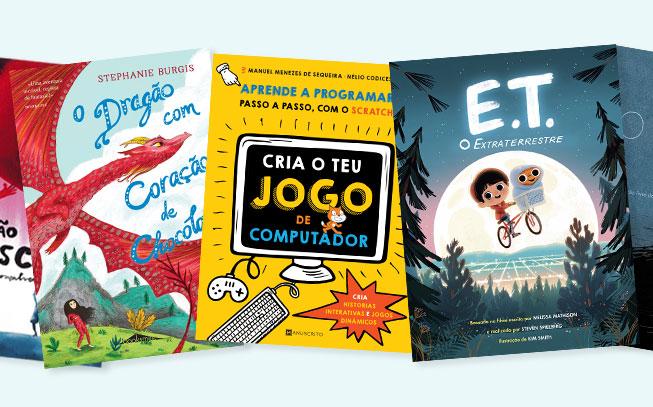 5 livros infantis novos para ler com os miúdos este mês