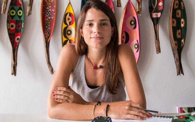 Naia Ceschin: A recente artista da Havaianas que quer viver em Portugal