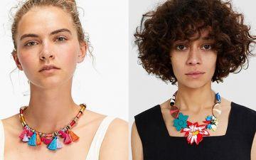 Este ano os colares querem-se grandes, coloridos e a dar nas vistas