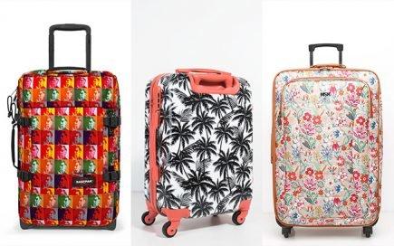 Vai de férias? Escolha uma mala de viagem que dê nas vistas e não a perca