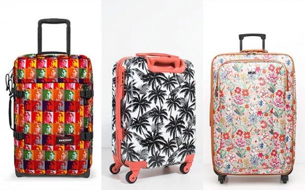 Vai de férias? Estas malas de viagem dão nas vistas