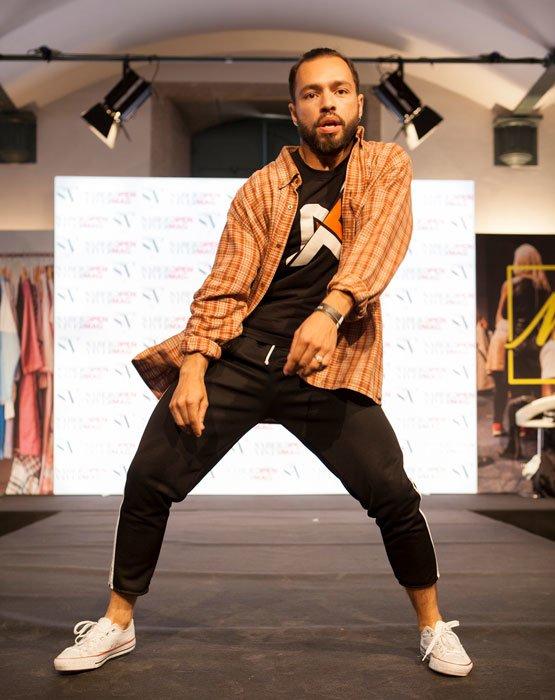 atuação de dance hall com a we dance