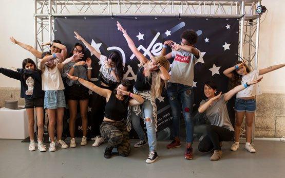 workshop de dança com a we dance