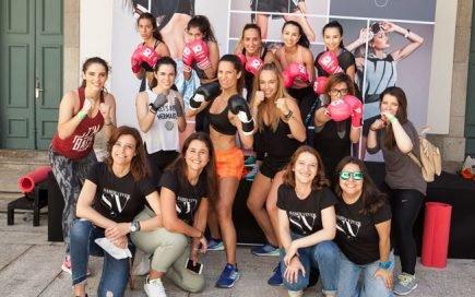 aula de boxe Juliana Rocha