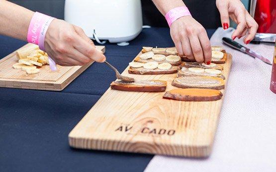 workshop alimentação saudável com The avocato natural food & Taste