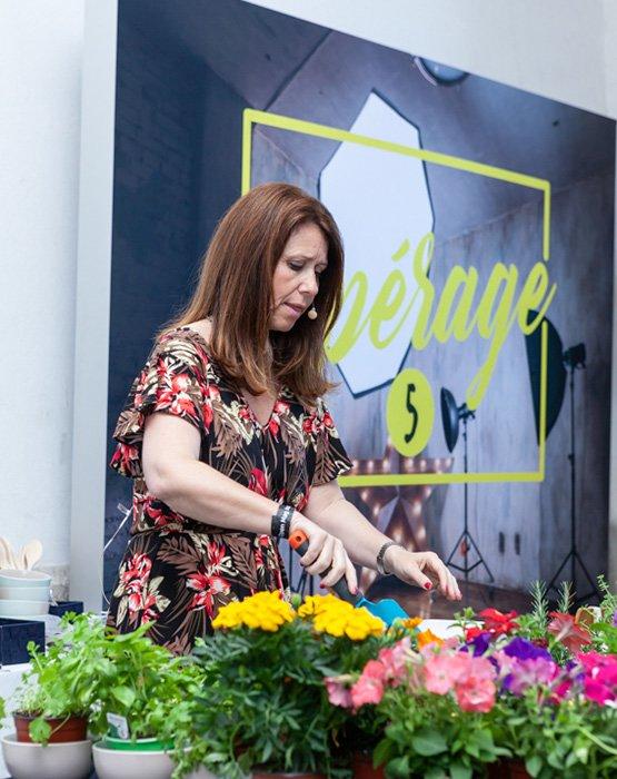 workshop de plantas aromáticas com Teresa Chambel