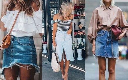 11 formas de usar uma saia de ganga