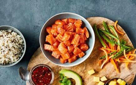 salmão da noruega