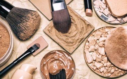 misturas texturas maquilhagem