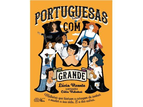livro portuguesas com M grande