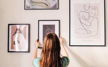 16 quadros decorativos para ilustrar as paredes da sua casa
