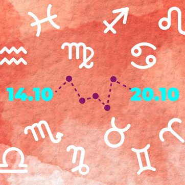 horoscopo semanal, 14 a 20 de outubro