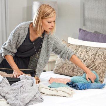 Aprenda a arrumar a mala de viagem como Marie Kondo