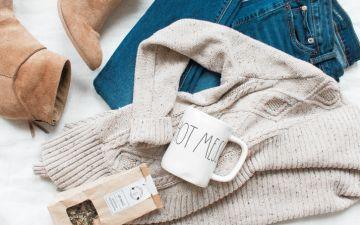 Roupa confortável para se sentir bem enquanto está em casa