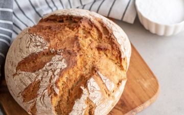 Quer fazer pão em casa? Experimente esta receita simples