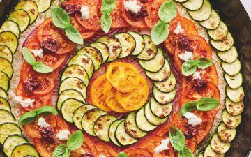Arroz de legumes mediterrânico, uma versão ainda mais saborosa de um clássico
