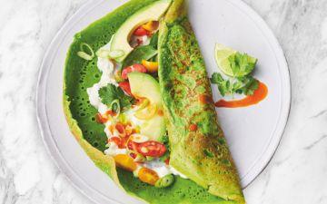 Superpanquecas de espinafres, uma receita nutritiva e irresistível