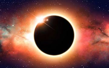 Eclipse solar em Caranguejo. Dores de parto