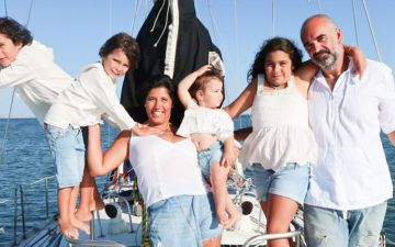 Crónica. Vamos largar tudo e viajar com os nossos quatro filhos num veleiro