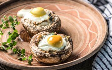 Cogumelos no forno: uma receita prática e que fica pronta em alguns minutos