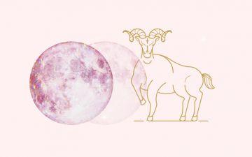 Lua nova em Carneiro. Separe-se de fora e ligue-se dentro