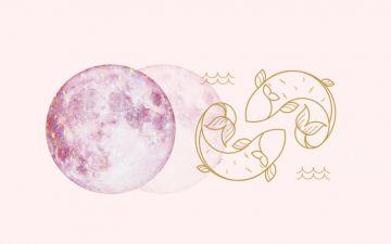 Lua nova em Peixes. Sonhos partilhados