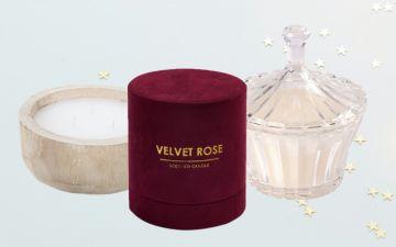 Estas velas são o presente ideal para quem quer oferecer uma peça de decoração
