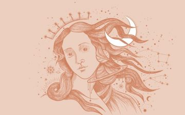 Lua e Vénus, duas faces complementares do feminino