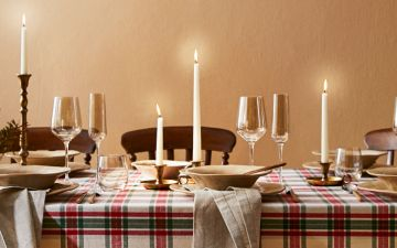 14 ideias originais para decorar a mesa este Natal
