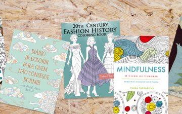 10 livros de colorir para adultos para acalmar a ansiedade durante o confinamento