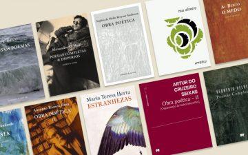 12 livros de poetas portugueses para celebrar o Dia Mundial da Poesia