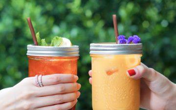 3 receitas de chá frio para se manter fresca e hidratada no verão
