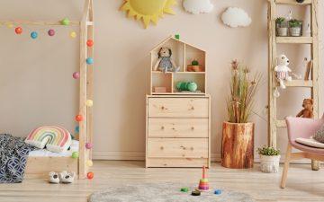 Como criar um quarto montessoriano para o seu filho
