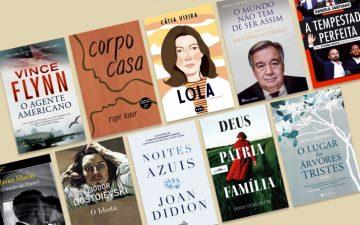 10 livros que queremos ler durante o mês de junho