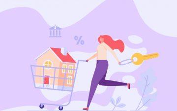 Comprar vs. arrendar. Em qual das opções encontra a sua casa metade?
