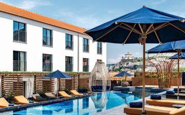 The Lodge Hotel: acorde com vista para o Rio Douro no novo hotel de Gaia